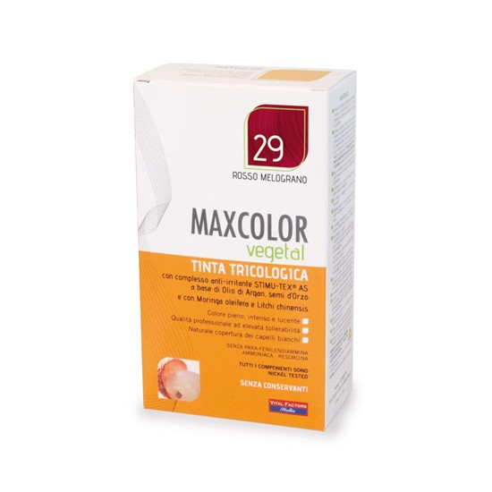 MaxColor Vegetal - 29 Rosso...