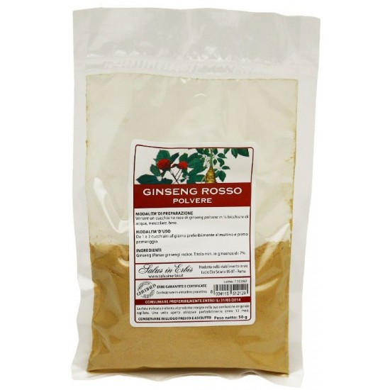 Ginseng rosso polvere
