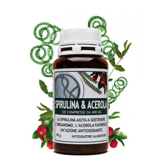 Spirulina & Acerola 120...
