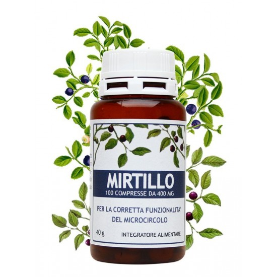 Mirtillo 100 compresse