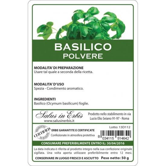 Basilico polvere